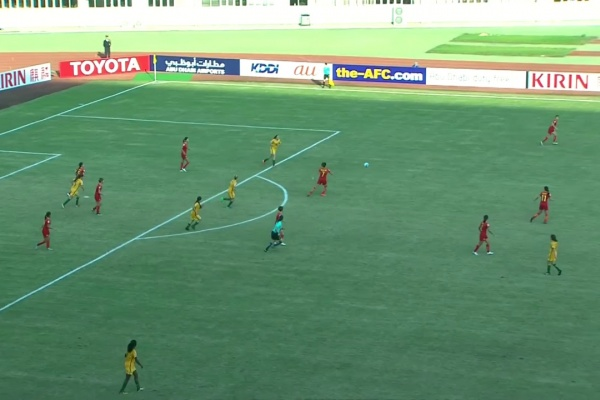 AUSTRALIA vs CHINA  (AFC U-19 Women's Championship: 3rd Placing)
