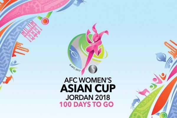 AFC Women's Asian Cup Jordan 2018  100 DAYS TO GO