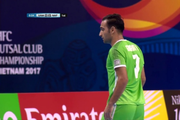 Vamos FC vs Nafit Al Wasat (AFC Futsal Club Championship 2017)