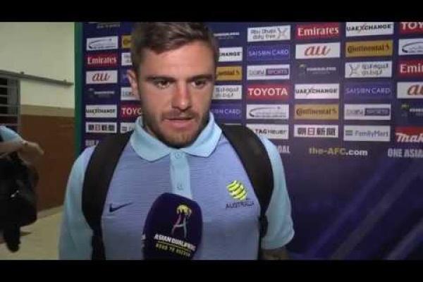 Post Match Interview: Josh Risdon