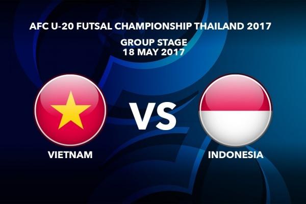 #AFCU20FC THAILAND 2017 - M24 Vietnam vs Indonesia - Highlights