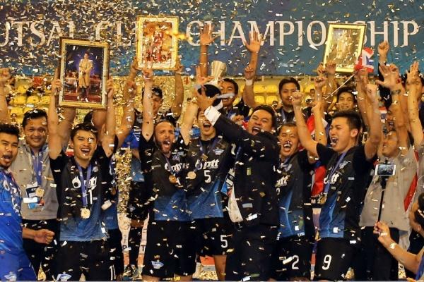 AFC Futsal Club Championship - Vietnam 2017 - Winner (Bluewave Chonburi (THA)