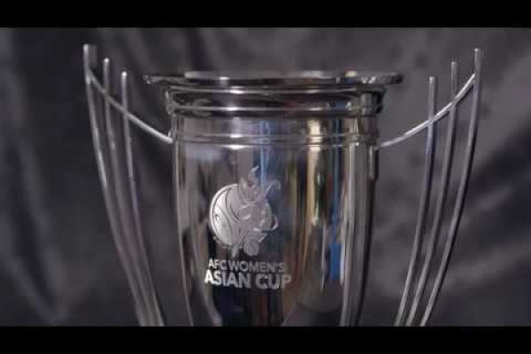Video News: AFC Women's Asian Cup trophy launch