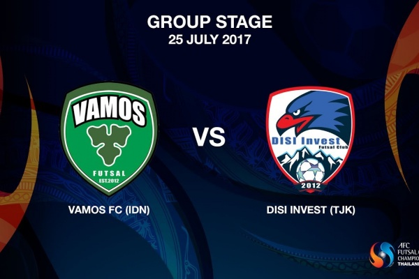 M17 - Vamos FC (IDN) vs Disi Invest (TJK)