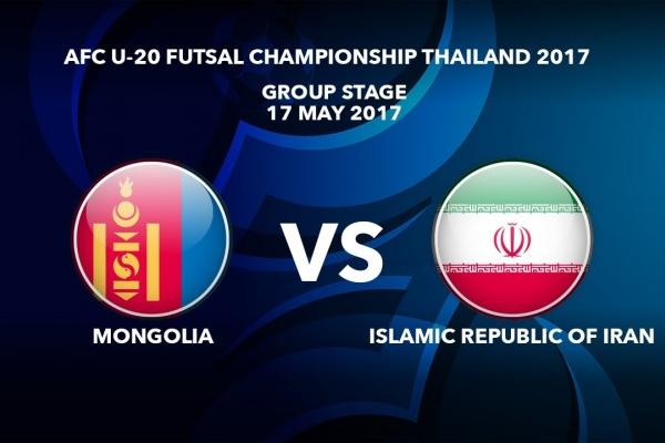 #AFCU20FC THAILAND 2017 - M11 MONGOLIA VS IR IRAN - Highlights