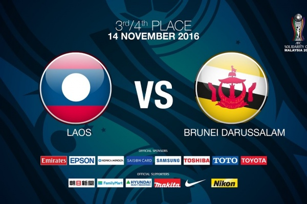 #AFC SOLIDARITY CUP 3rd/4th Placing  Laos v Brunei DS - News Report