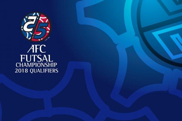 AFC Futsal Championship 2018 Qualifiers Draw
