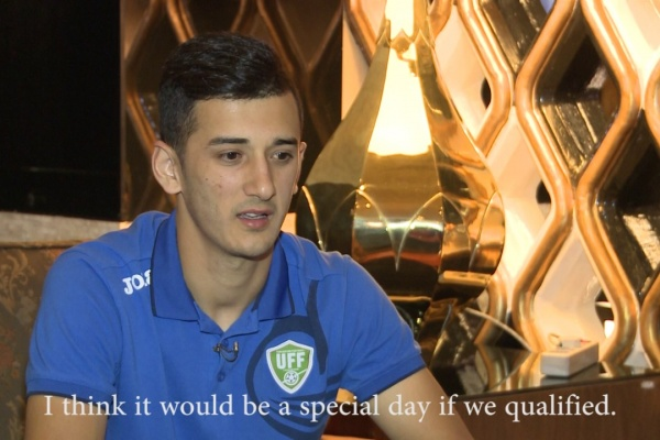 Sardor Rashidov: It will be a special day if we qualify for the FIFA World Cup