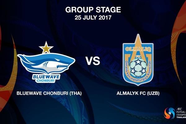 M16 - Bluewave Chonburi (THA) vs Almalyk FC (UZB)