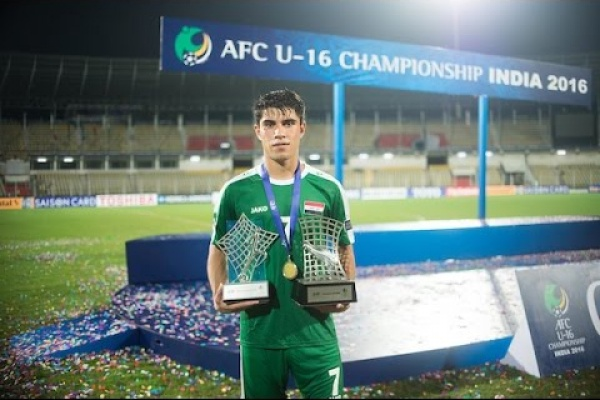 Stars of Tomorrow: Mohammed Dawood (Iraq)