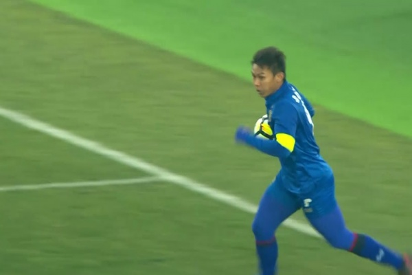 Chenrop Samphaodi pulls one back for Thailand