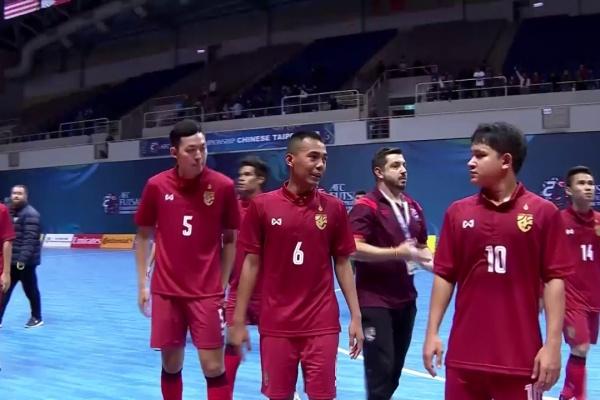 Lebanon vs Thailand (AFC Futsal Championship 2018: Group Stage)