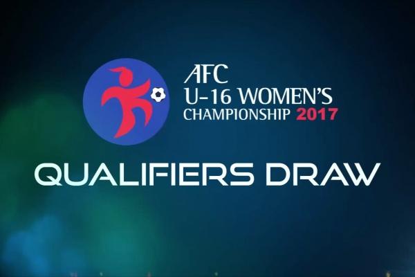 AFC U-16 Women's Championship 2017 - Qualifiers Draw