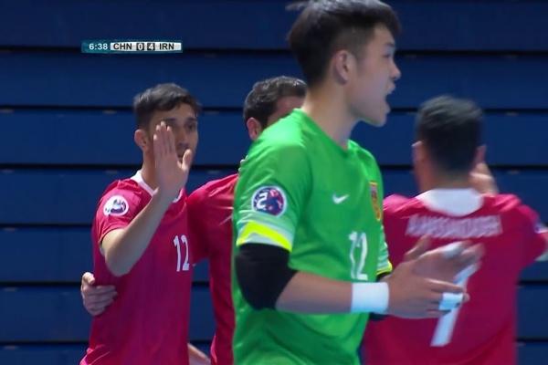 China 1-11 Iran (AFC Futsal Championship 2018: Group Stage)