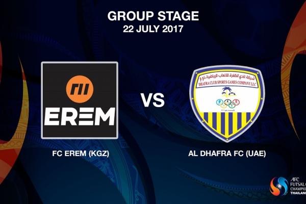 M08 - FC EREM (KGZ) vs Al Dhafra FC (UAE) - Video News