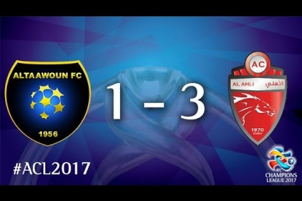 Al Taawoun vs Al Ahli (AFC Champions League 2017 : Group Stage - MD4)