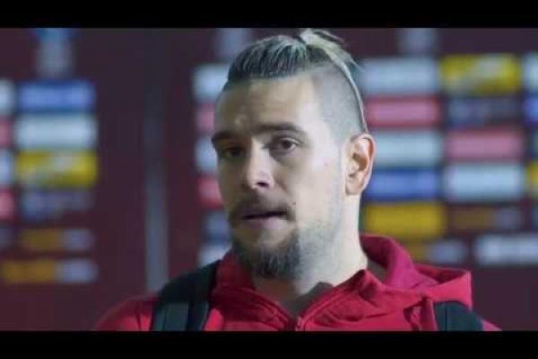 Post Match Interview: Nikola Stosic