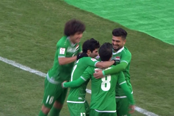 Iraq open the scoring against Malaysia!