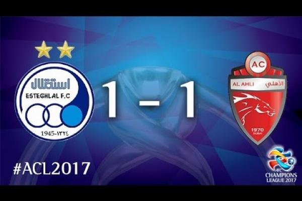 Esteghlal vs Al Ahli (AFC Champions League 2017 : Group Stage)