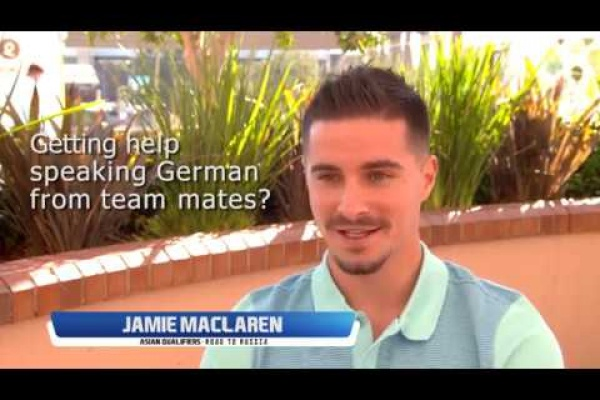 What would Jamie Maclaren be if he wasn't a footballer?