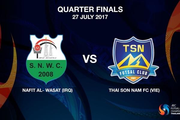 M21 - NAFIT Al- Wasat (IRQ) vs Thai Son Nam FC (VIE)