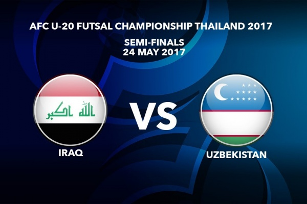 #AFCU20FC THAILAND 2017 - M51 SF2 IRAQ vs UZBEKISTAN - Video News