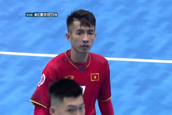 Vietnam 1-2 Malaysia (AFC Futsal Championship 2018: Group Stage)