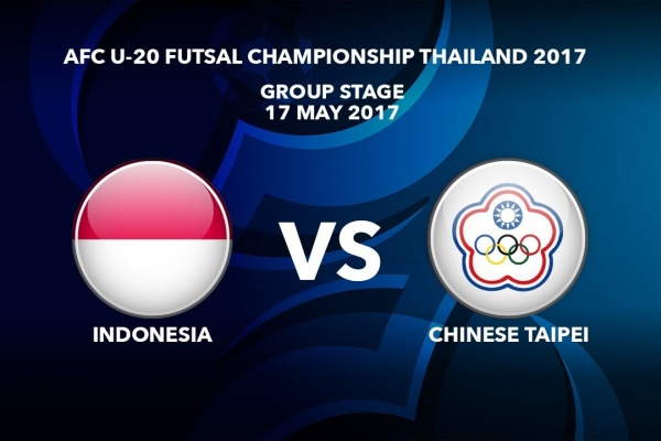 #AFCU20FC THAILAND 2017 - M17 INDONESIA VS CHINESE TAIPEI - Highlights