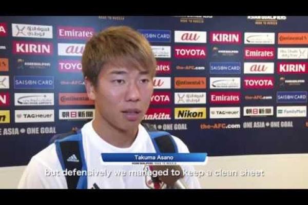 Post match interview: Takuma Asano