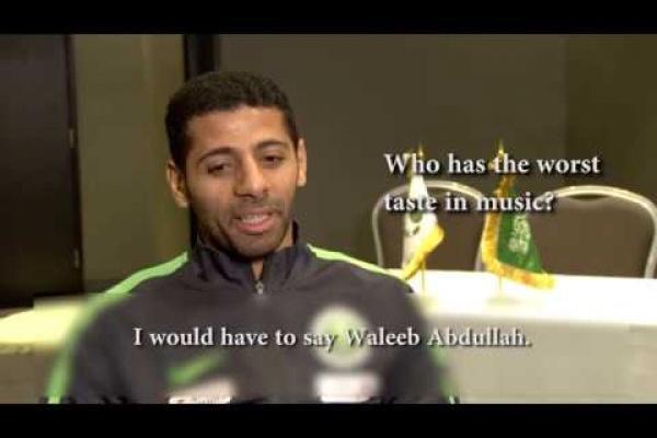 Taisser Al Jassam and Nasser Al Shamrani spill the beans of their teammates!