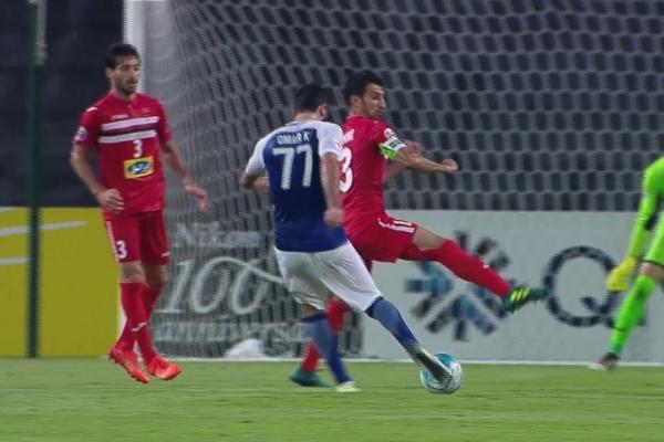 Omar Khribin seals his hat-trick!