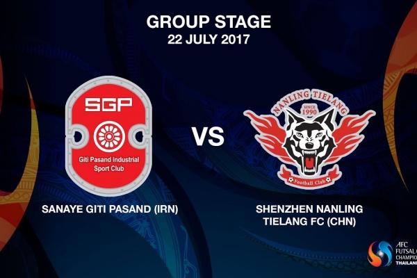 M07 - Sanaye Giti Pasand (IRN) vs Shenzhen Nanling Tielang FC (CHN) - Video News