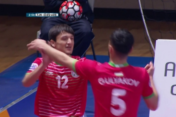 Tajikistan 2-4 Uzbekistan (AFC Futsal Championship 2018: Group Stage)