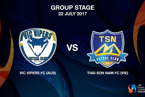 M09 - Vic Vipers FC (AUS) vs Thai Son Nam FC (VIE) - Video News