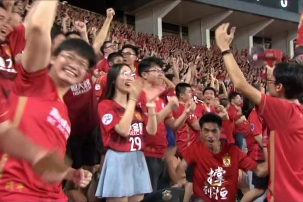 Ricardo Goulart heads in Guangzhou Evergrande's 3rd goal!