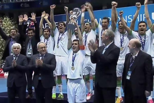 UZBEKISTAN vs IRAN: AFC Futsal Championship 2016 (Final)