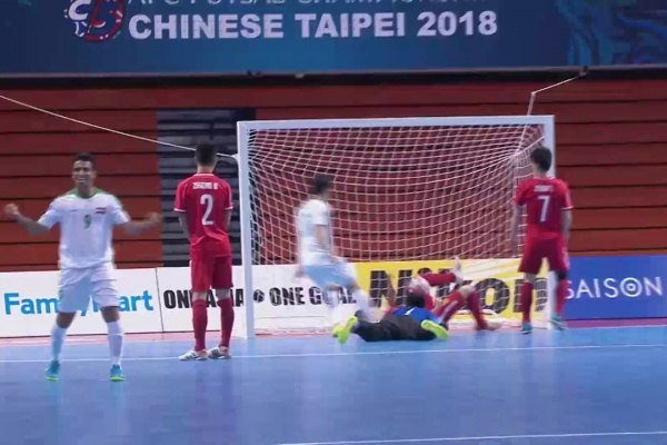 Iraq vs China (AFC Futsal Championship 2018: Group Stage)