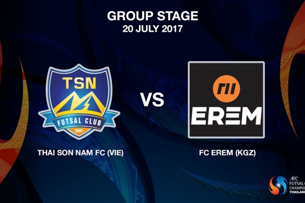 M03 - Thai Son Nam FC (VIE) vs FC EREM (KGZ) - Video News