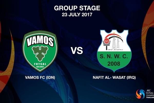 M12 - Vamos FC (IDN) vs NAFIT Al- Wasat (IRQ)