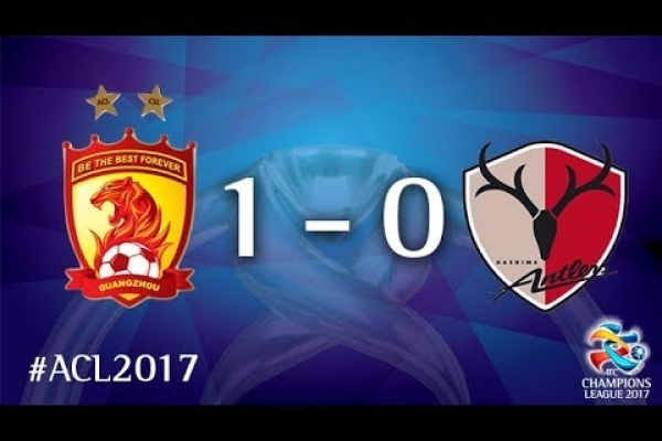 Guangzhou Evergrande vs Kashima Antlers (AFC Champions League 2017 : Round of 16 - 1st Leg)