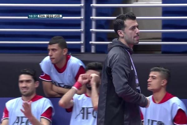 Thailand 5-1 Jordan (AFC Futsal Championship 2018: Group Stage)