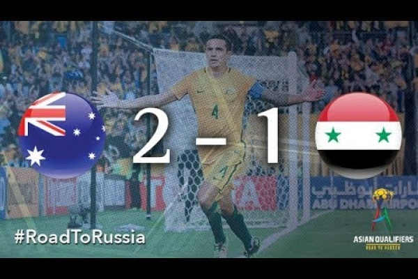 Australia vs Syria (2018 FIFA World Cup Qualifiers)