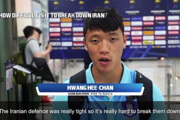 Post match interview: Hwang Hee-chan