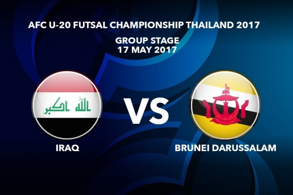 #AFCU20FC THAILAND 2017 - M16 Iraq vs Brunei Darussalam - Highlights