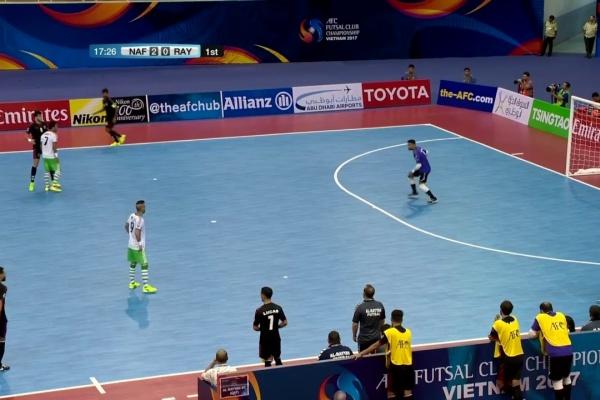 Nafit Al Wasat vs Al Rayyan (AFC Futsal Club Championship 2017)
