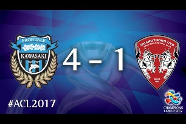 Kawasaki Frontale vs Muangthong United (AFC Champions League 2017 : Round Of 16 - 2nd Leg)