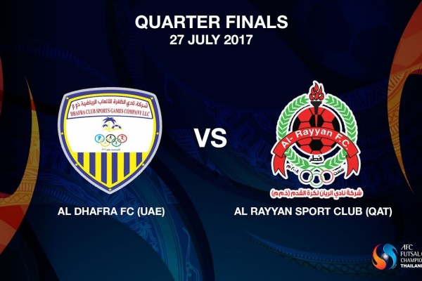 M22 - Al Dhafra FC (UAE) vs AL RAYYAN SPORT CLUB (QAT)