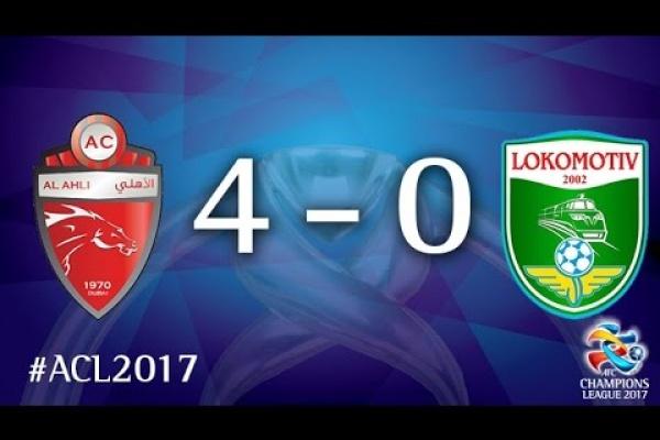 Al Ahli vs Lokomotiv (AFC Champions League 2017: Group Stage – MD6)