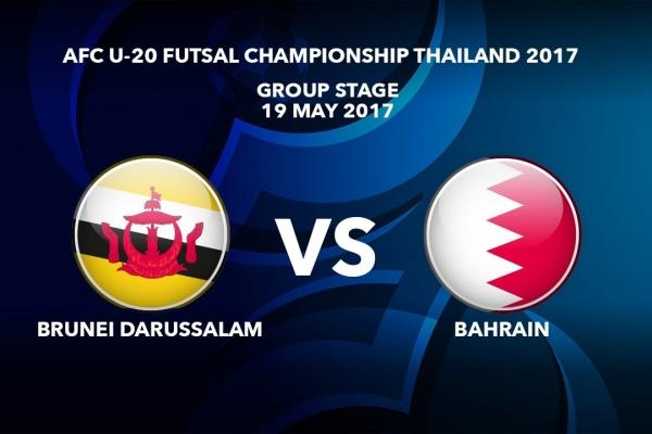 M34 BRUNEI DARUSSALAM vs BAHRAIN - AFC U-20 Futsal Championship Thailand 2017