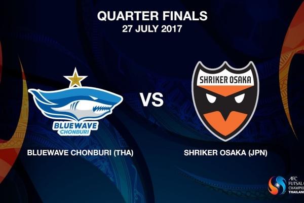 M19 - Bluewave Chonburi (THA) vs Shriker Osaka (JPN)